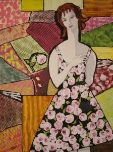 Emilie-Rose et sa robe - 48x36-2