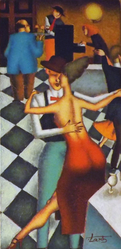 BISTRO DANCE 16X8