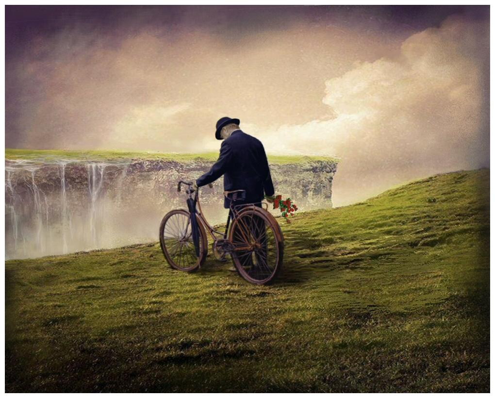 Irlande du Nord giclée sur toile numérotée 16 x 20 Claude Martin