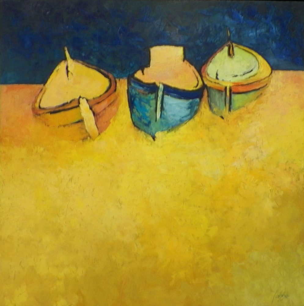 BARQUES 22×22 vendu/sold