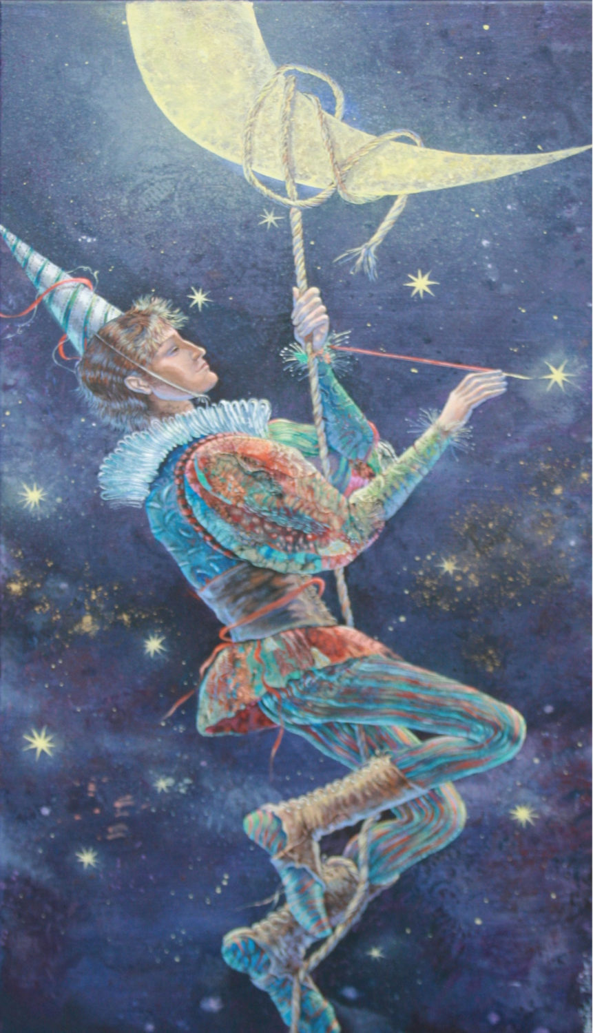 CHARMER OF THE MOON 36X18
