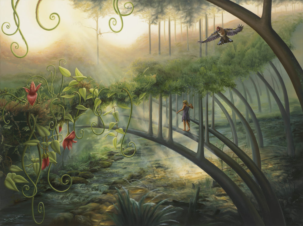 PARALELL FOREST 30X40 Sold/Vendu